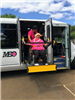 MEO Molokai Bus Project Blessing with Passenger