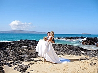 Just Married on Maui