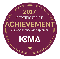 ICMA CPM 2017 Achievement Badge