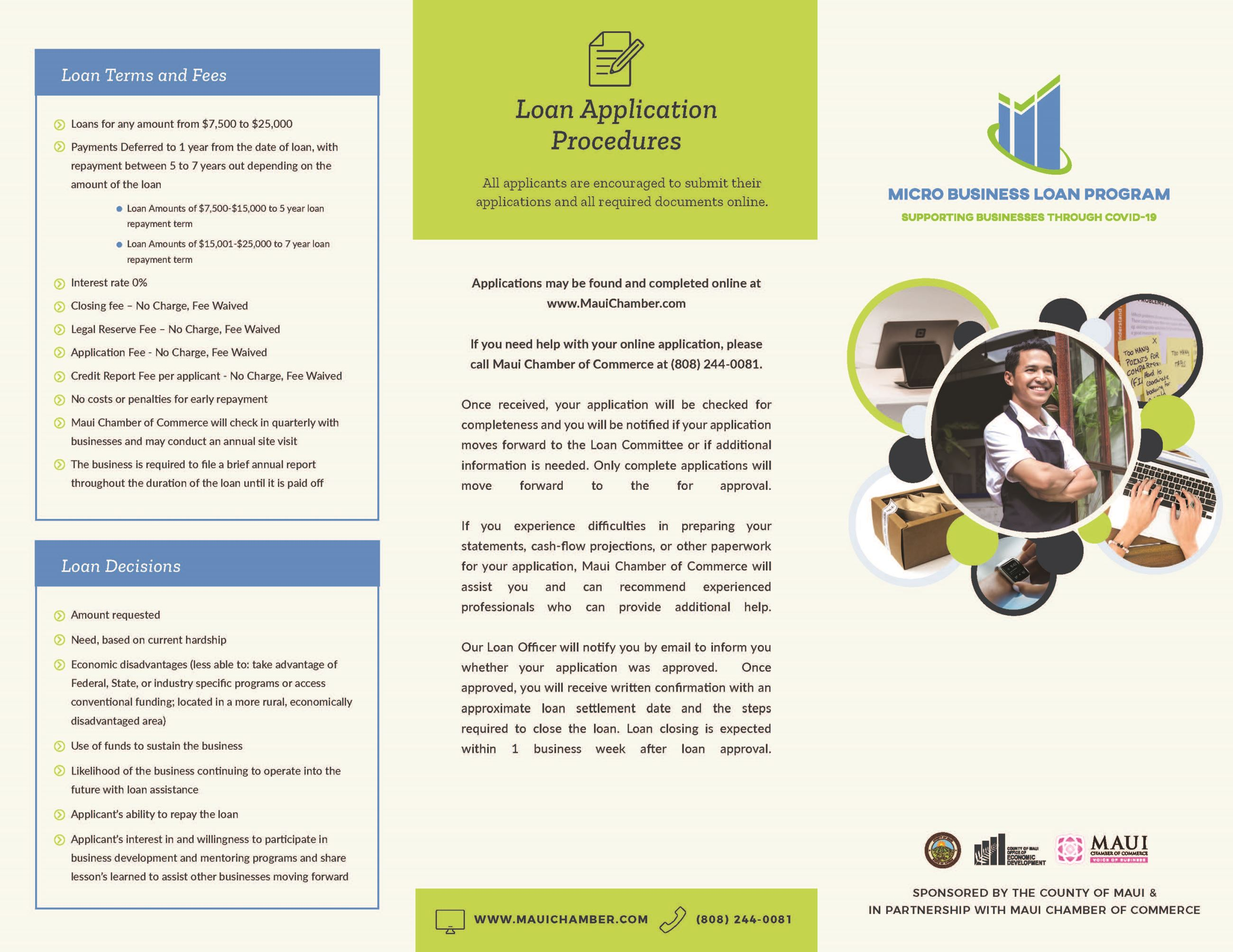 Micro Business Loan Program - Brochure_Page_1