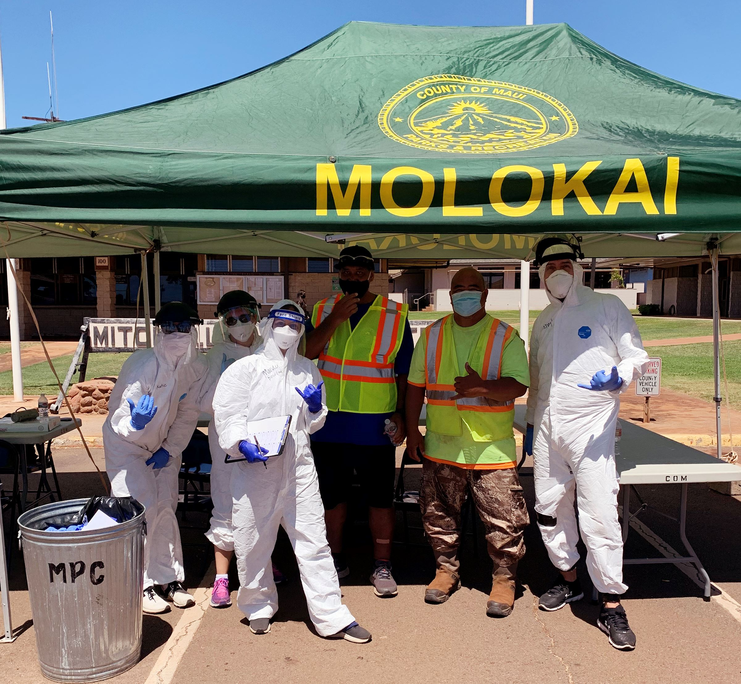 Minit Medical Molokai testing group 9.8.20