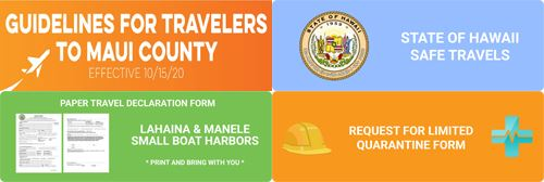 Travel Guidelines to Maui County
