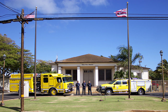 Paia Fire Station