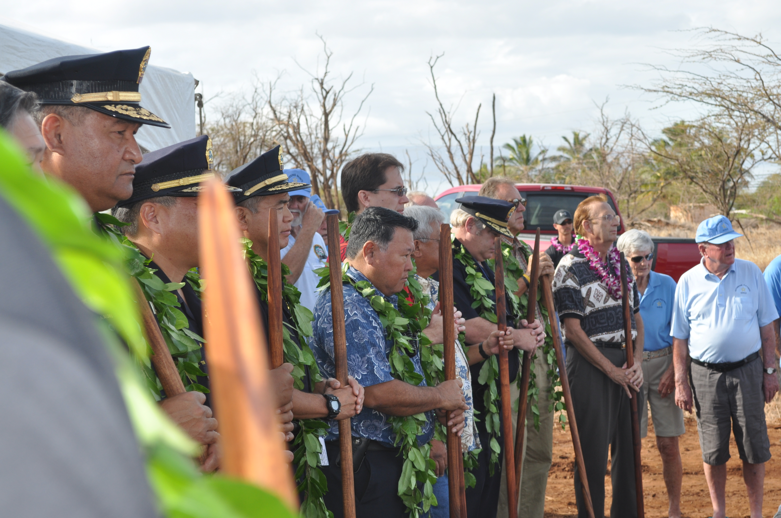 Kihei Police Station groundbreaking