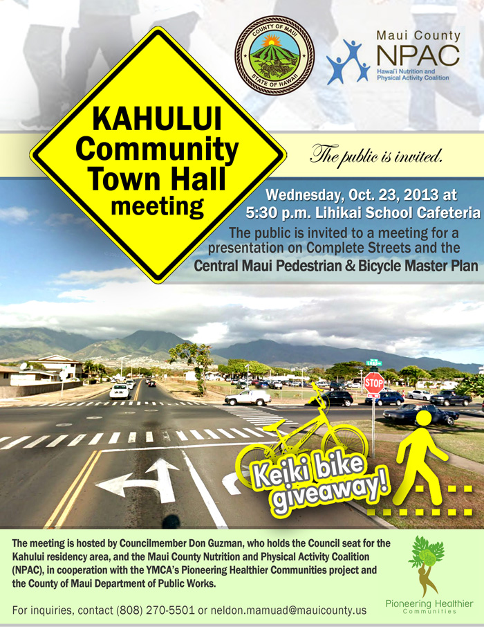 Kahului Community Town Hall Meeting