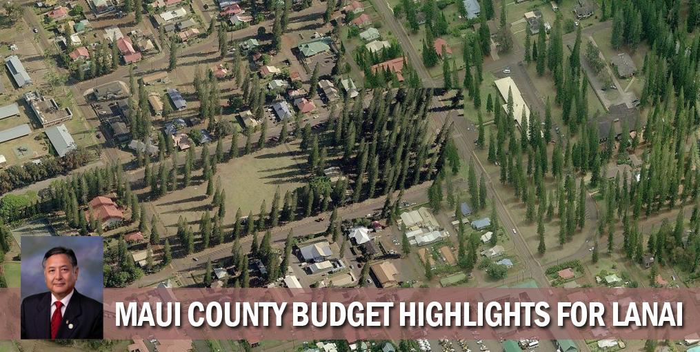 Budget highlights for Lanai