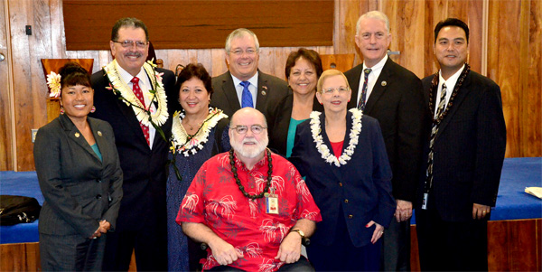 Council honors the Victorinos