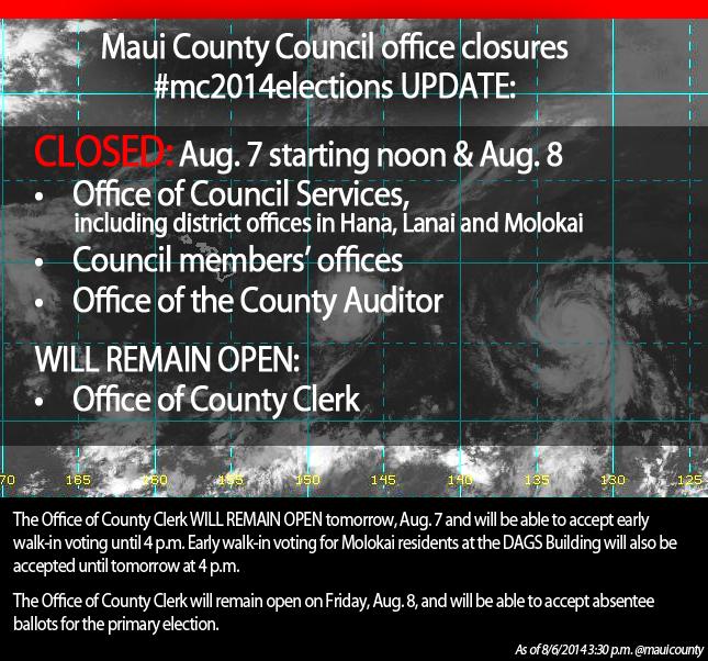 Emergency Closures