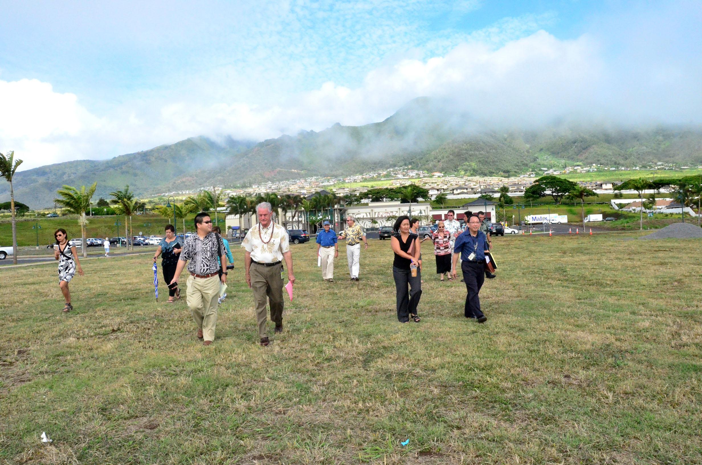 Kehalani site - new county service center