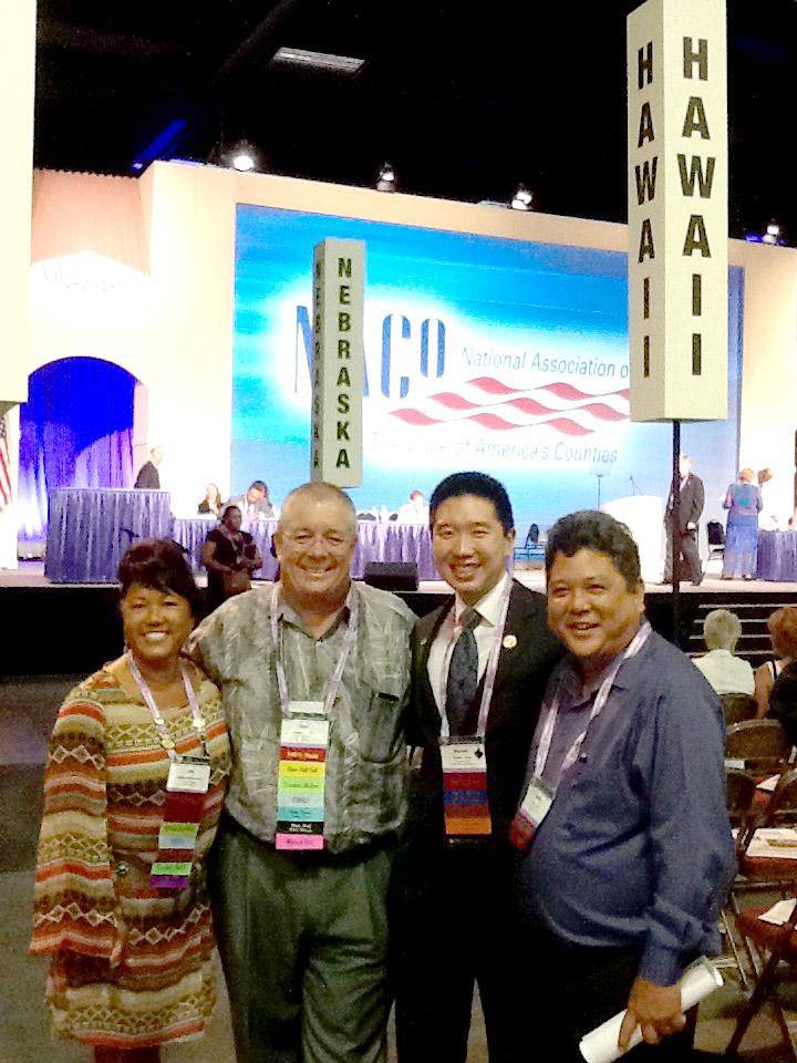 Councilmembers at NACo