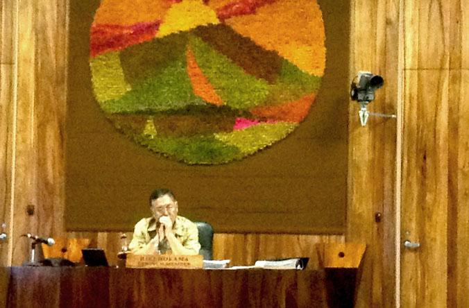 Councilmember Riki Hokama