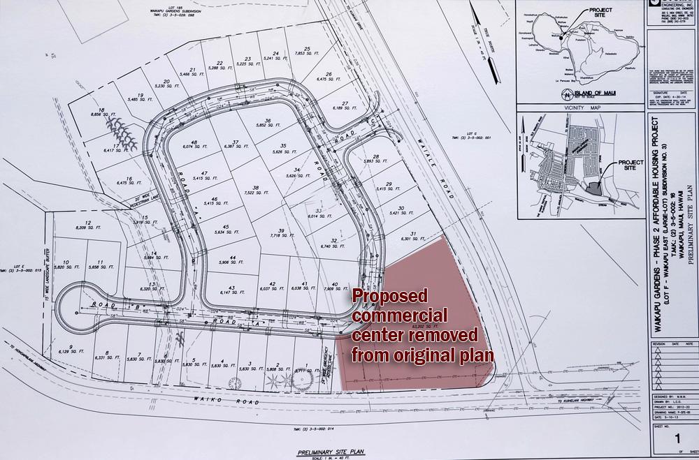 Waikapu Gardens Phase 2 Plan