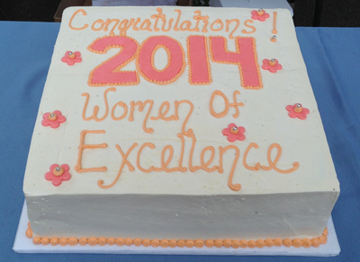 2014 Women of Excellence Cake
