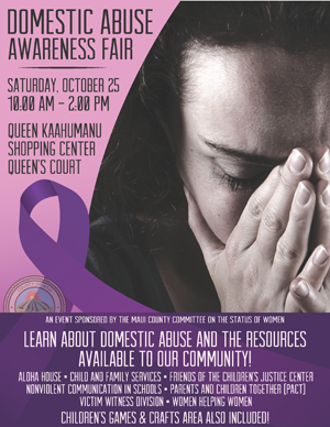 Domestic Abuse Awareness Flyer