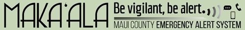 Maui County Emergency Alert System
